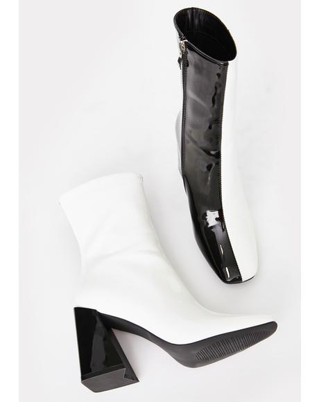 Remy Two Tone Boots