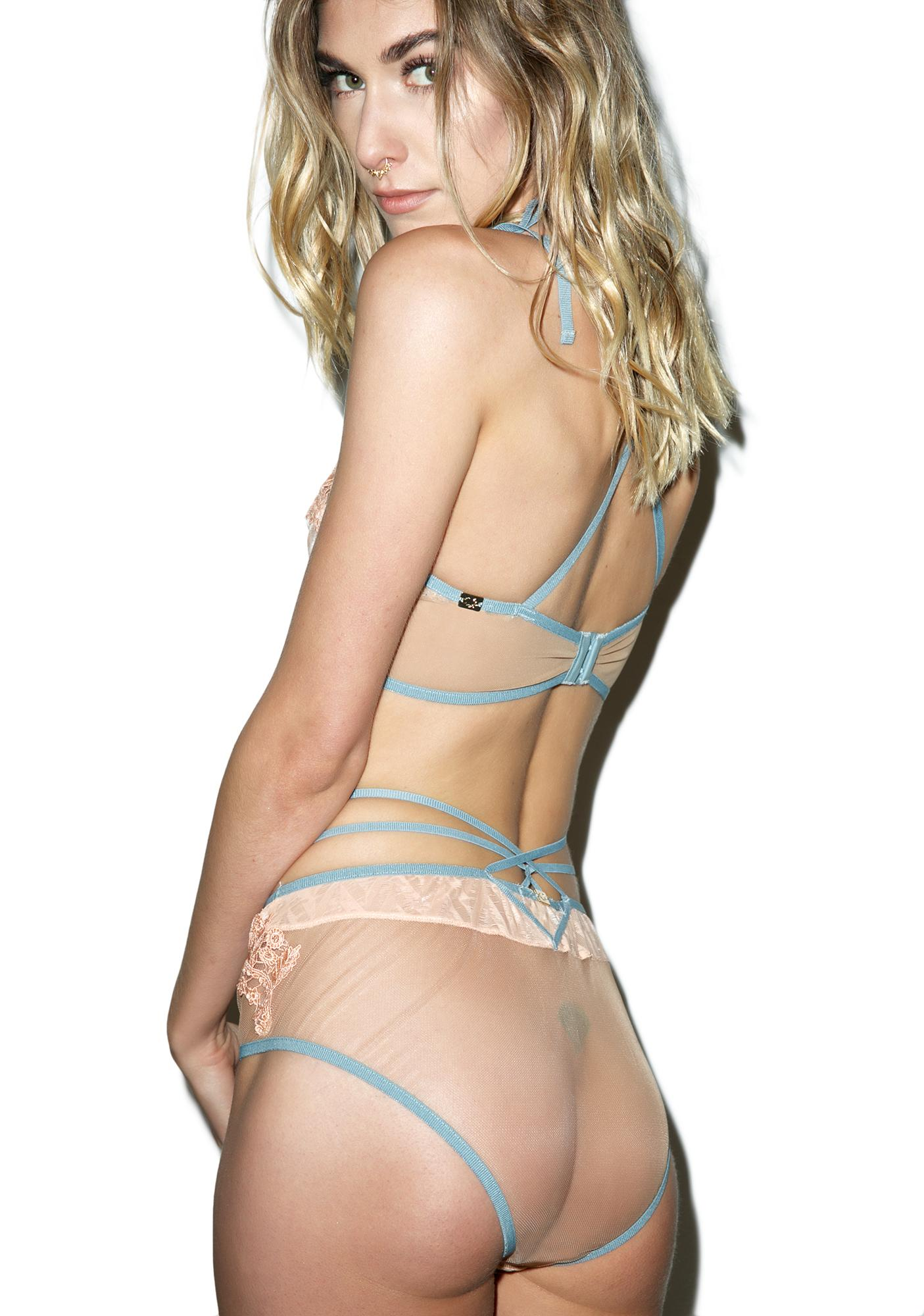For Love & Lemons Elle Hi Waist Panty