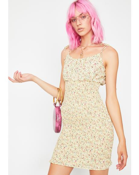 Sunny Paradise Floral Dress