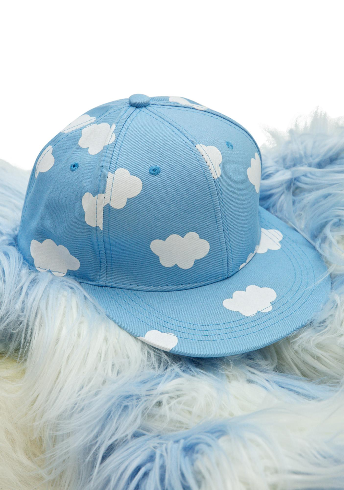 Cloudy Baseball Hat