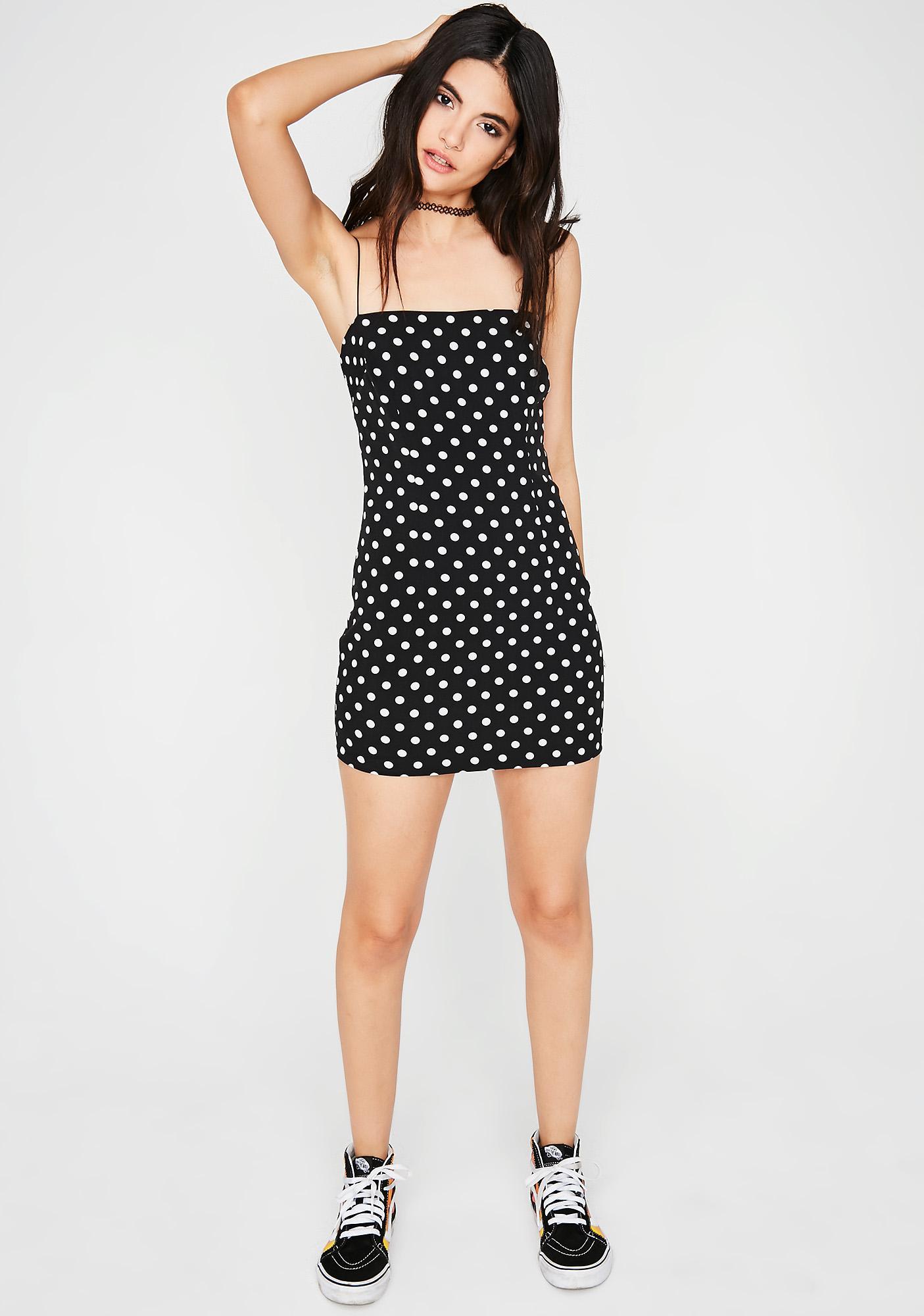 Good Luck Charm Mini Dress