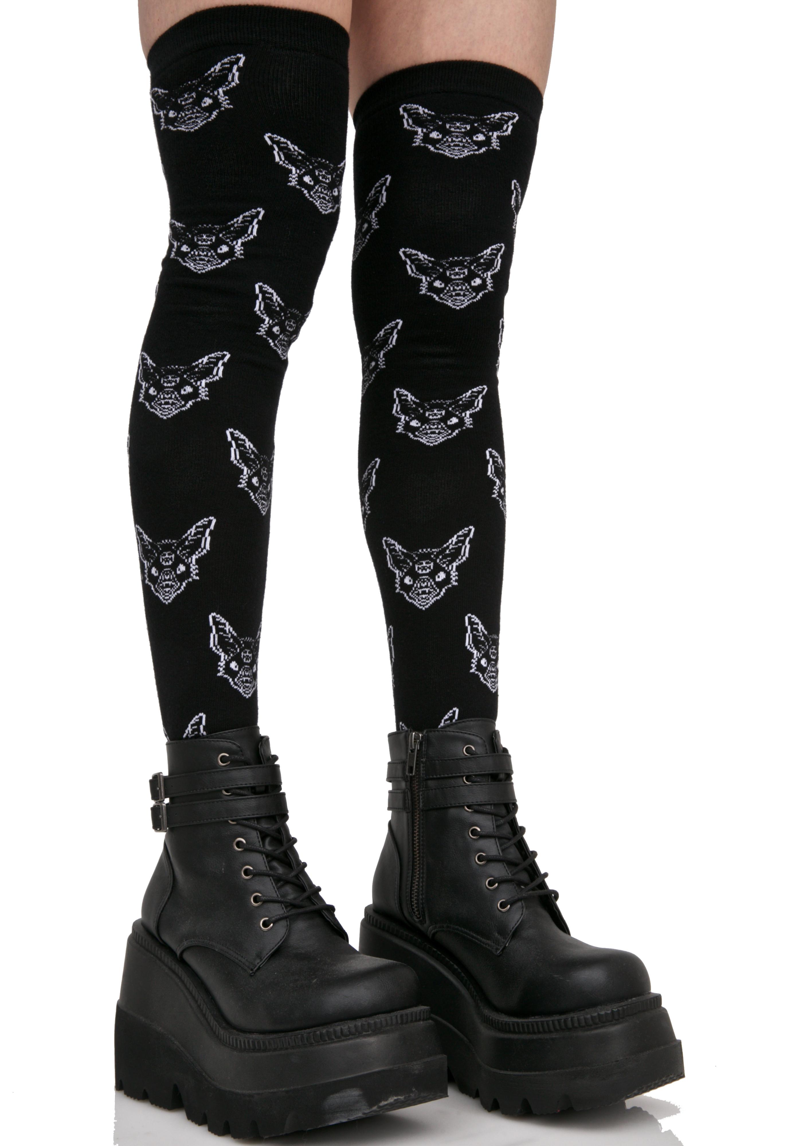Killstar Night Creature Long Socks