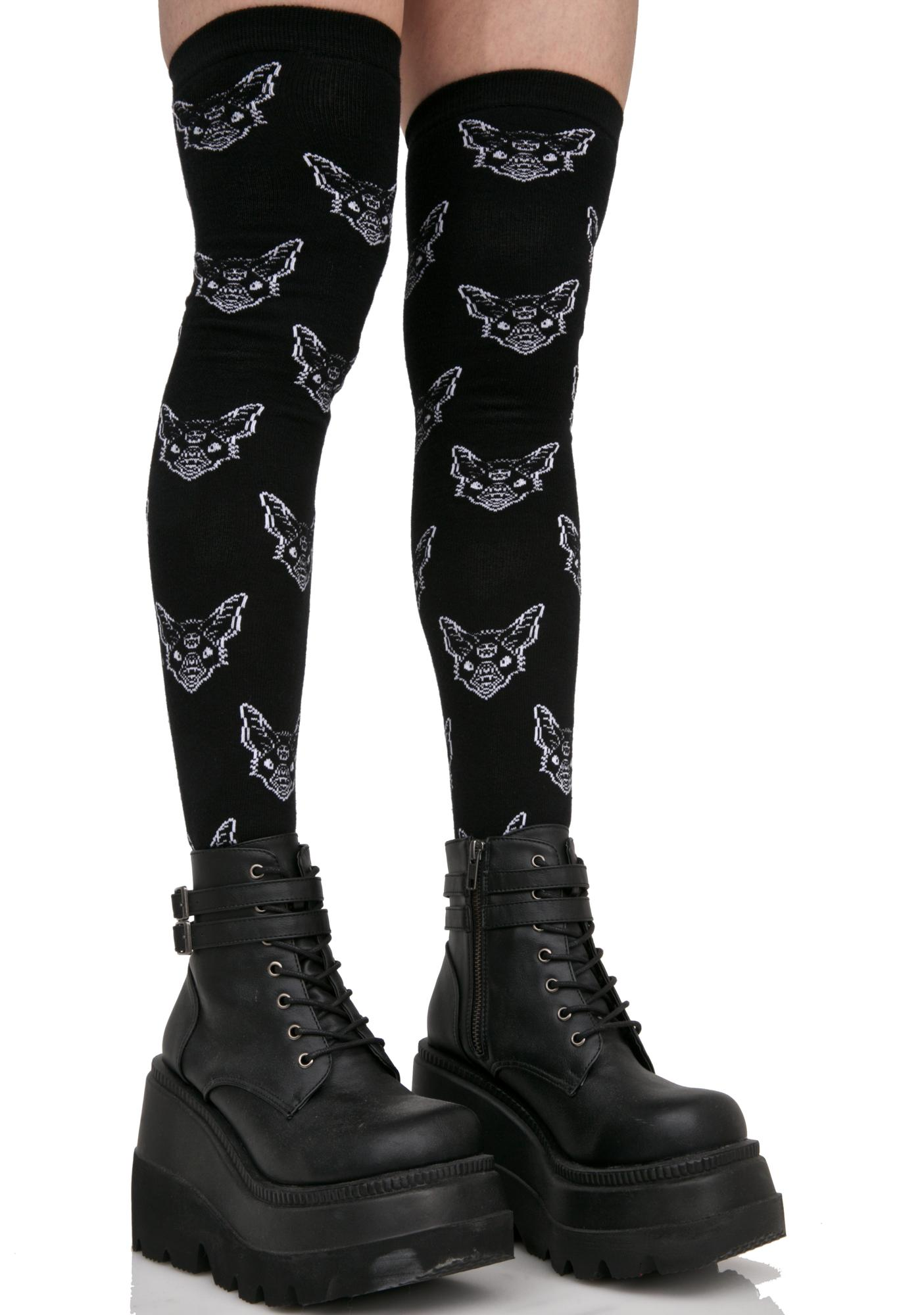 Killstar Night Creature Long Socks