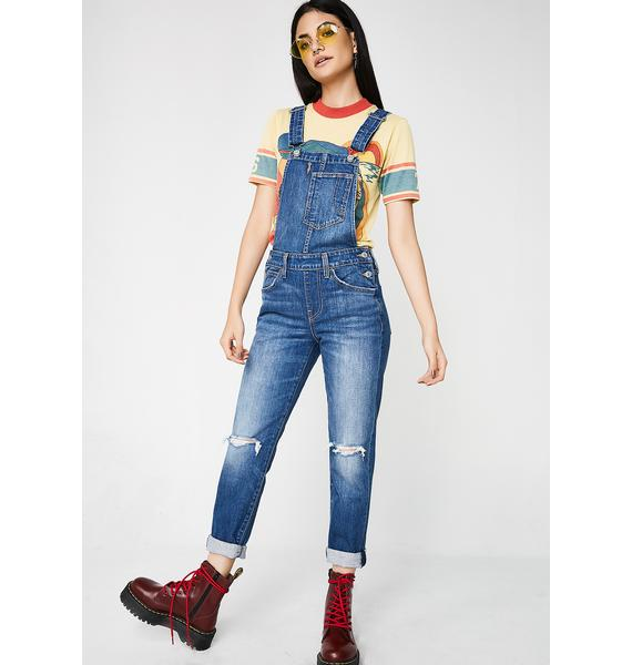 Levis So Over It Fitted Overalls