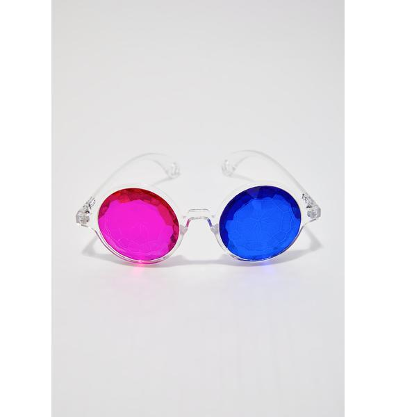 GloFX 3D Kaleidoscope Glasses