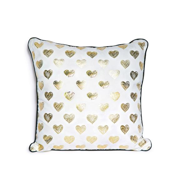Pillows & Fibers Ur Heart Is Golden Pillow