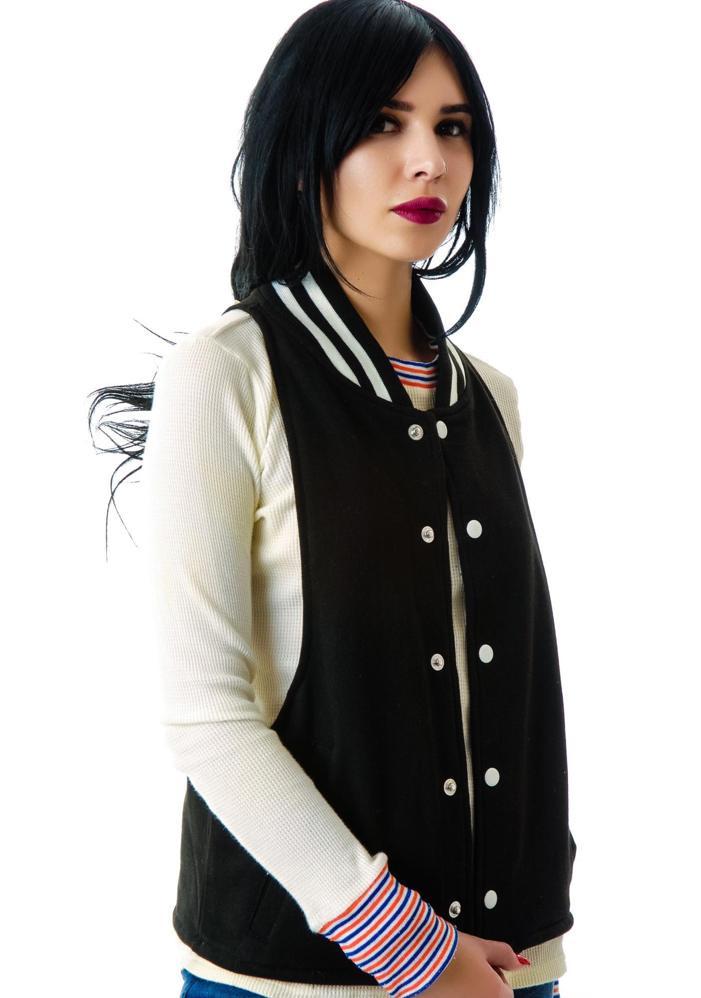 The Ragged Priest The  Lindsay Halter Bomber Vest