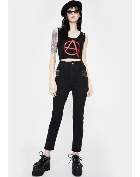 Pins And Needles Skinny Jeans