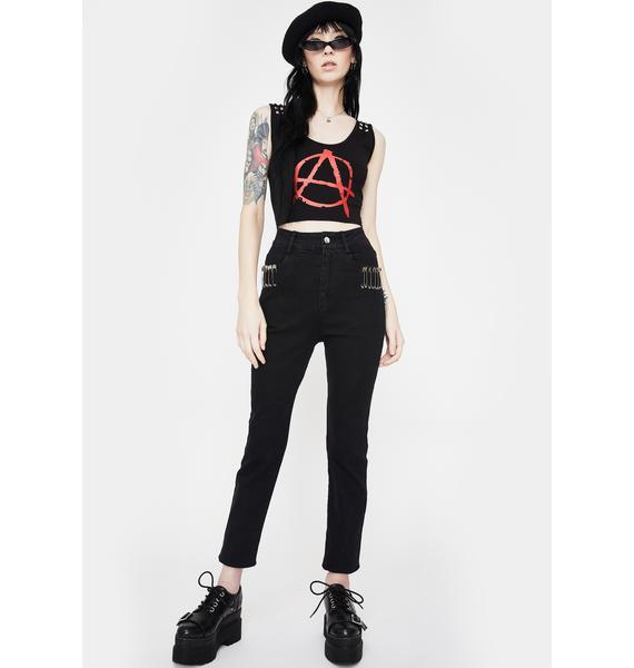 Jawbreaker Pins And Needles Skinny Jeans