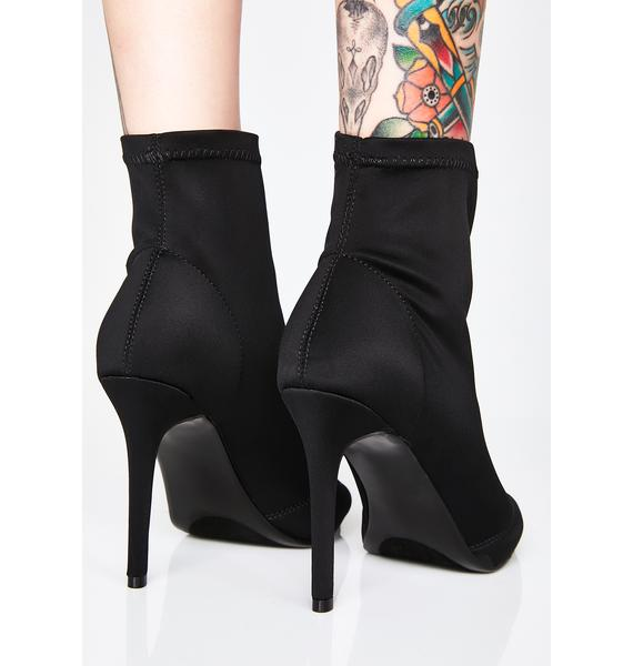Mobbin Peep Toe Booties