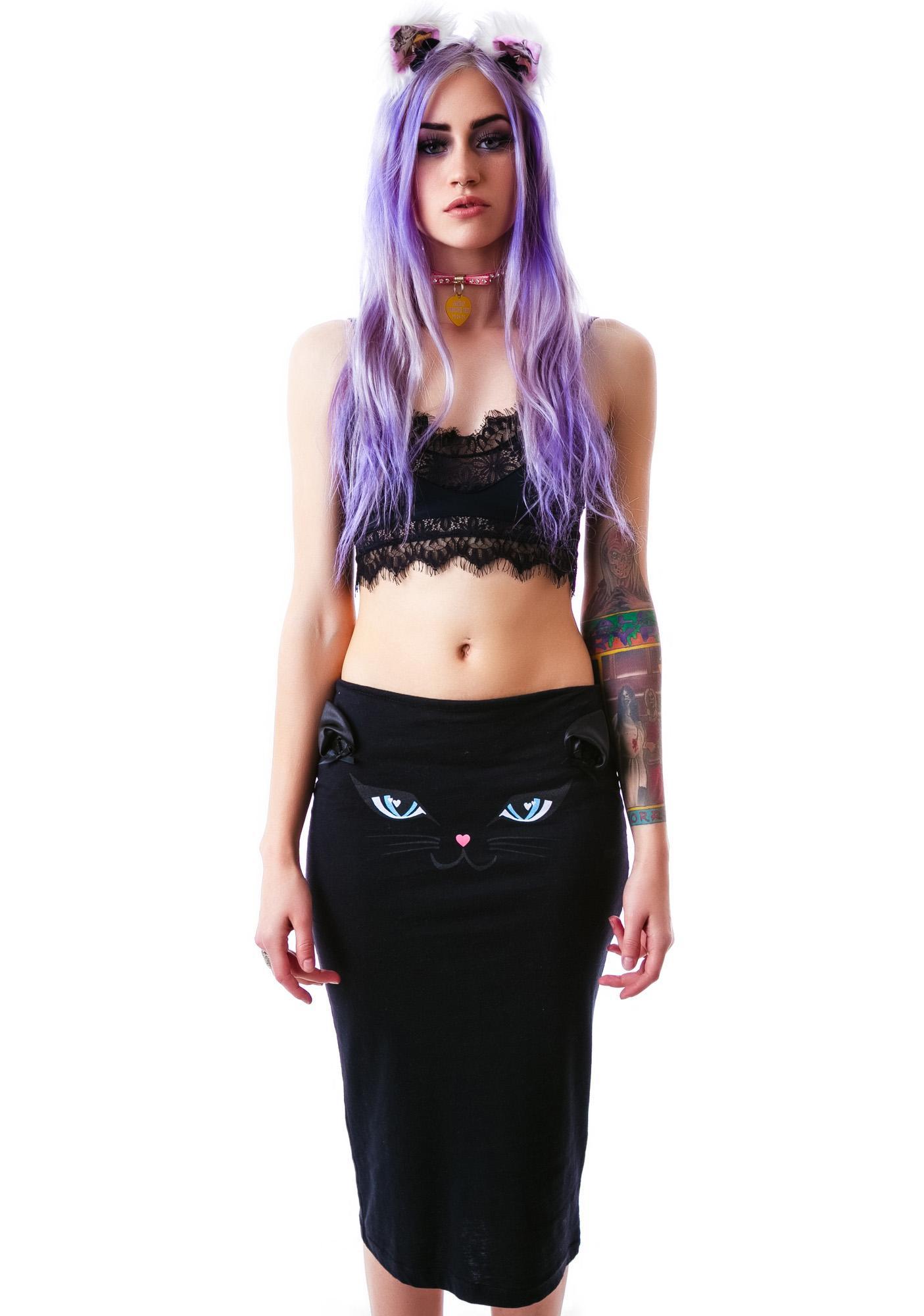 Kitty Pencil Skirt