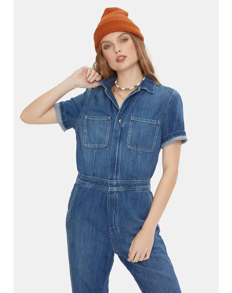 Ginger Denim Jumpsuit
