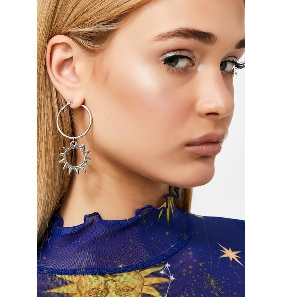 Star Signs Drop Earrings