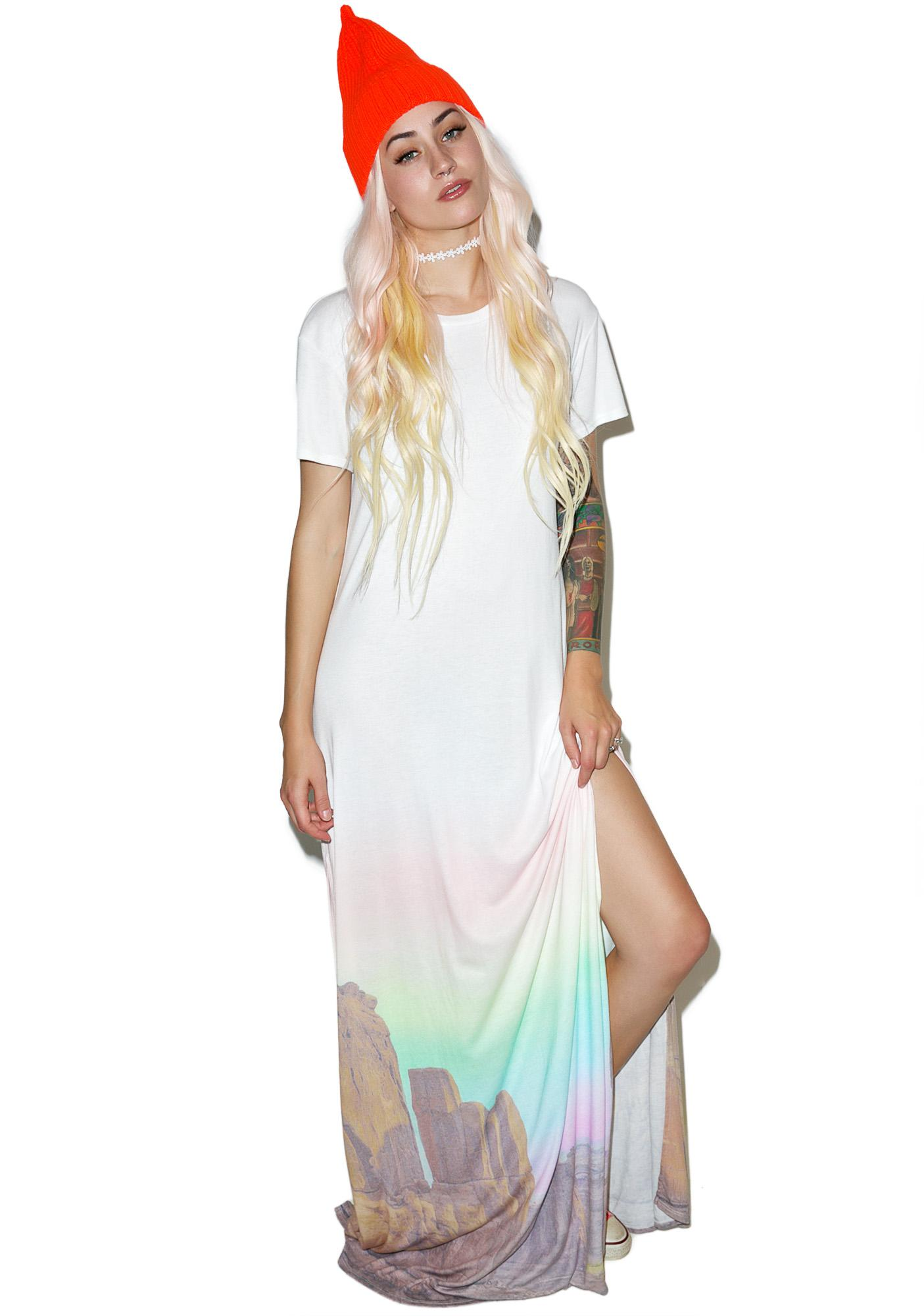 Wildfox Couture Canyon Sunset Journey Dress