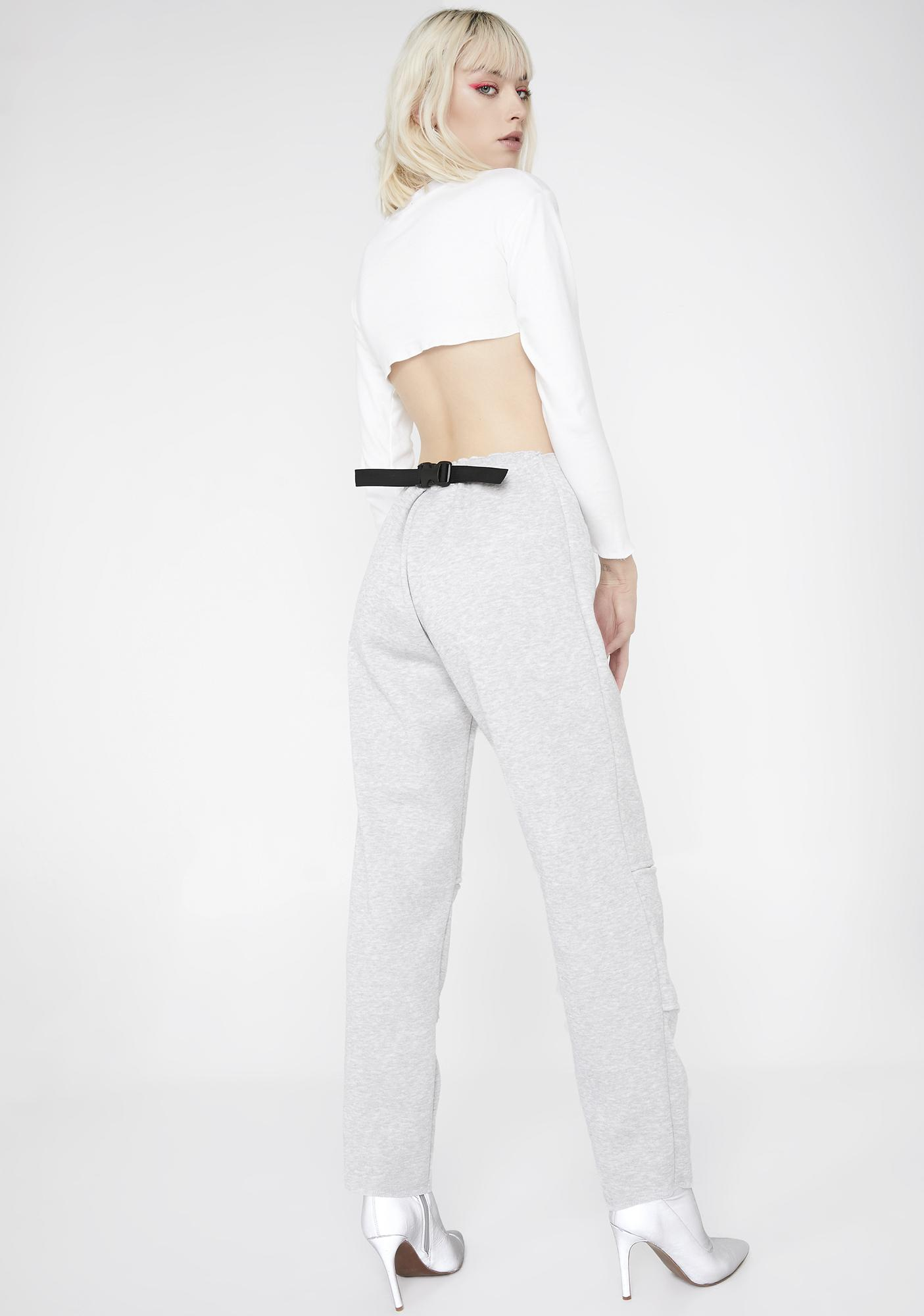 Riccetti Clothing New Age Belly Button Pants