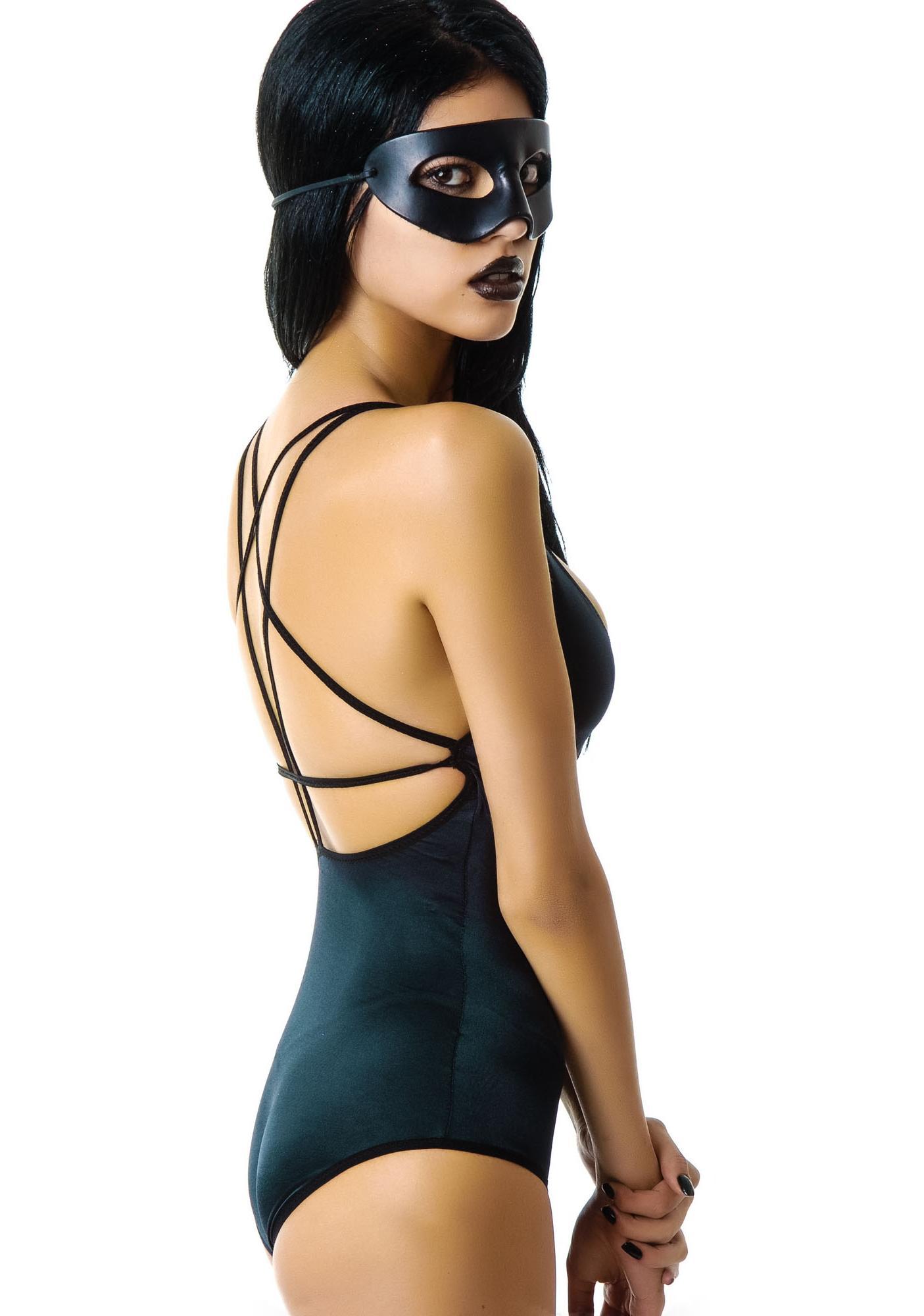 Dark Cult Pentagram Bodysuit