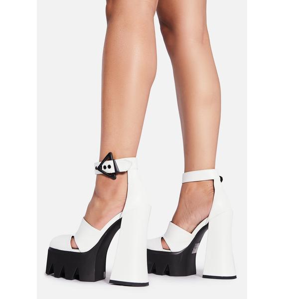 Lamoda Angel Everyone's Watching Platform Heels