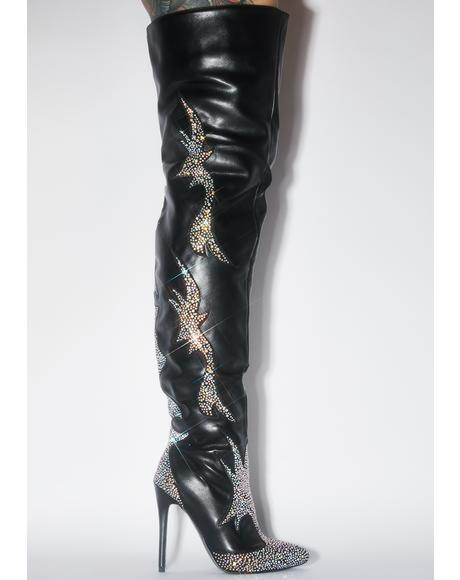 Fazi Thigh High Boots