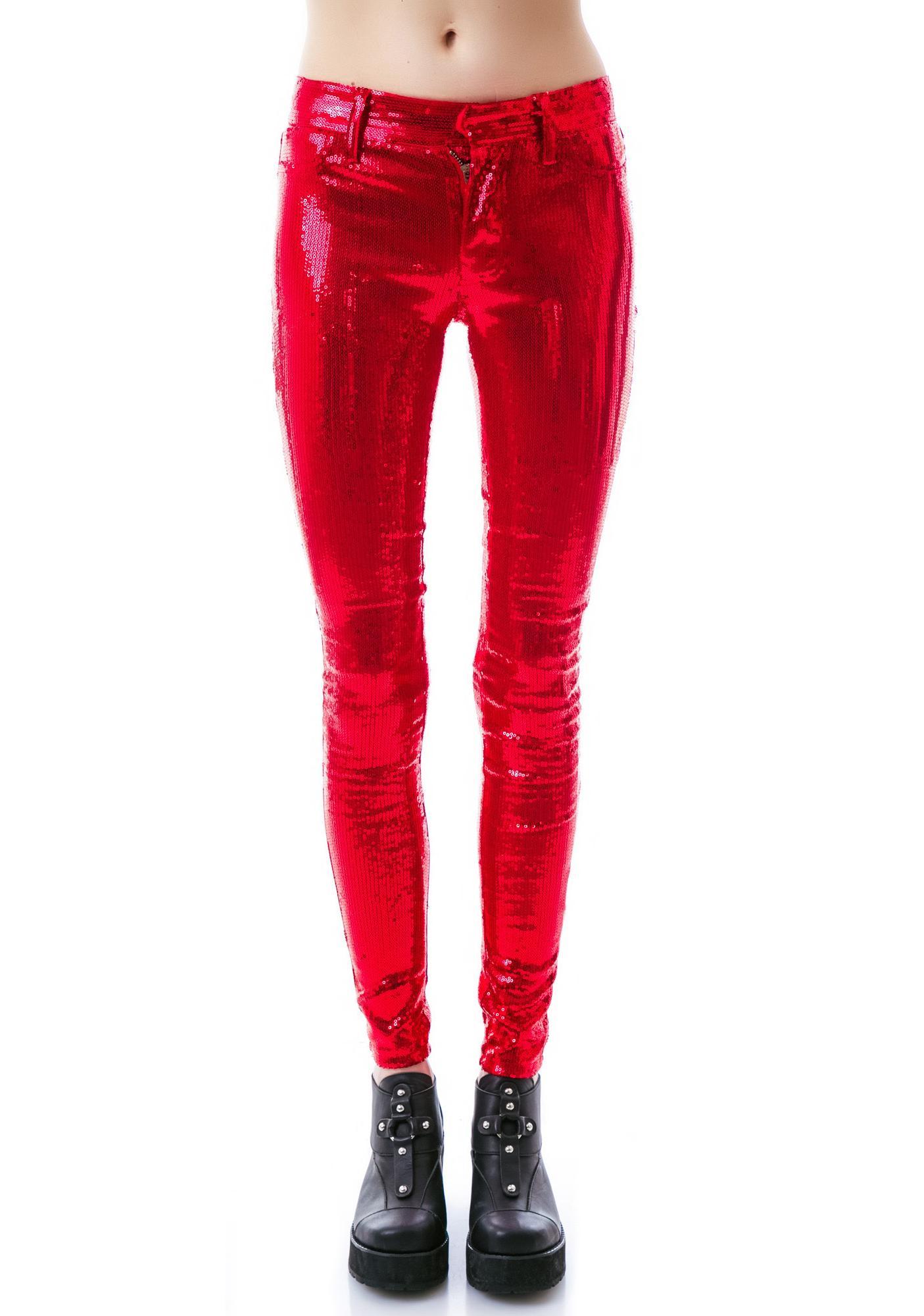 Wildfox Couture Raquel Sequin Pants