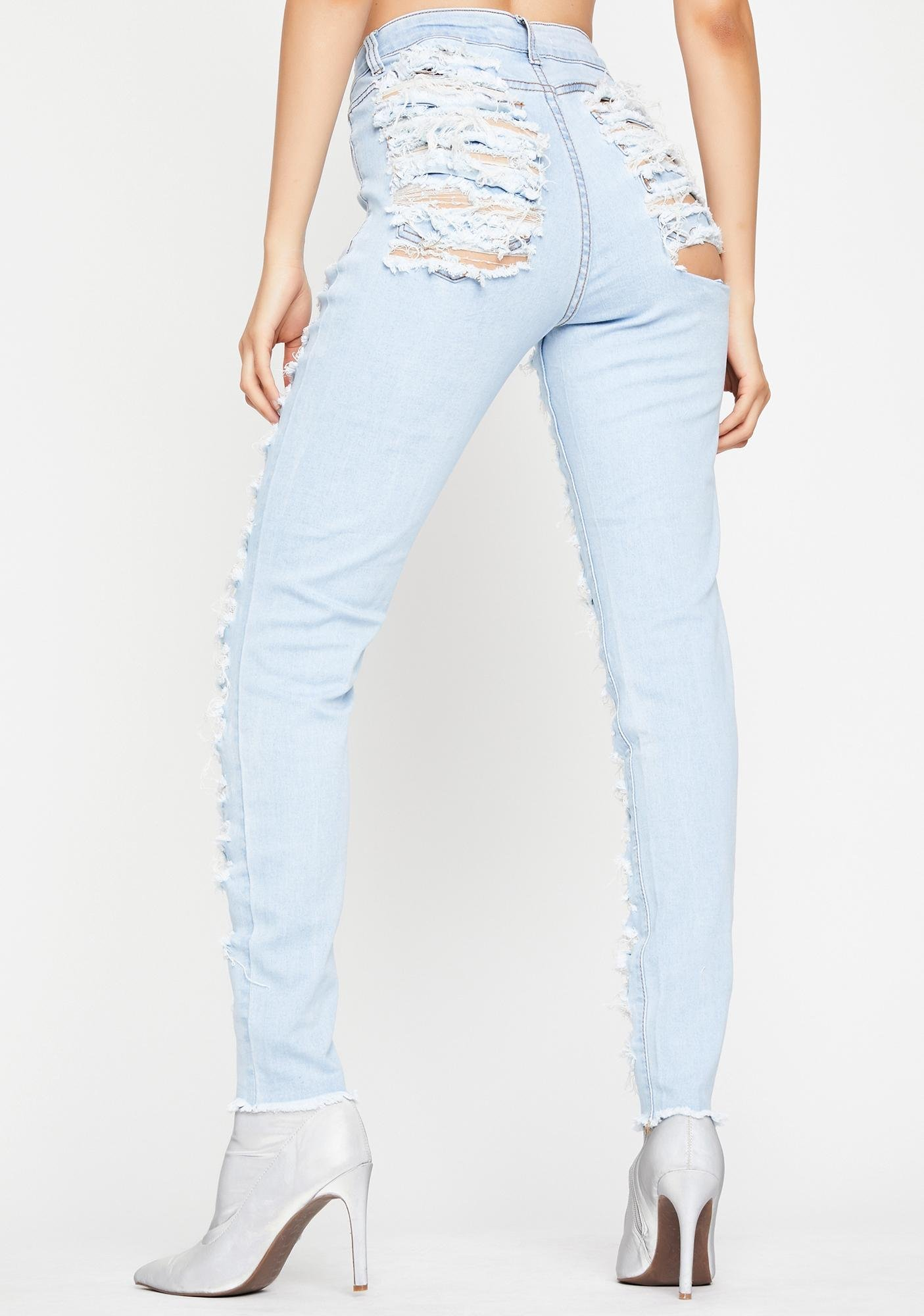 Torn Up Skinny Jeans