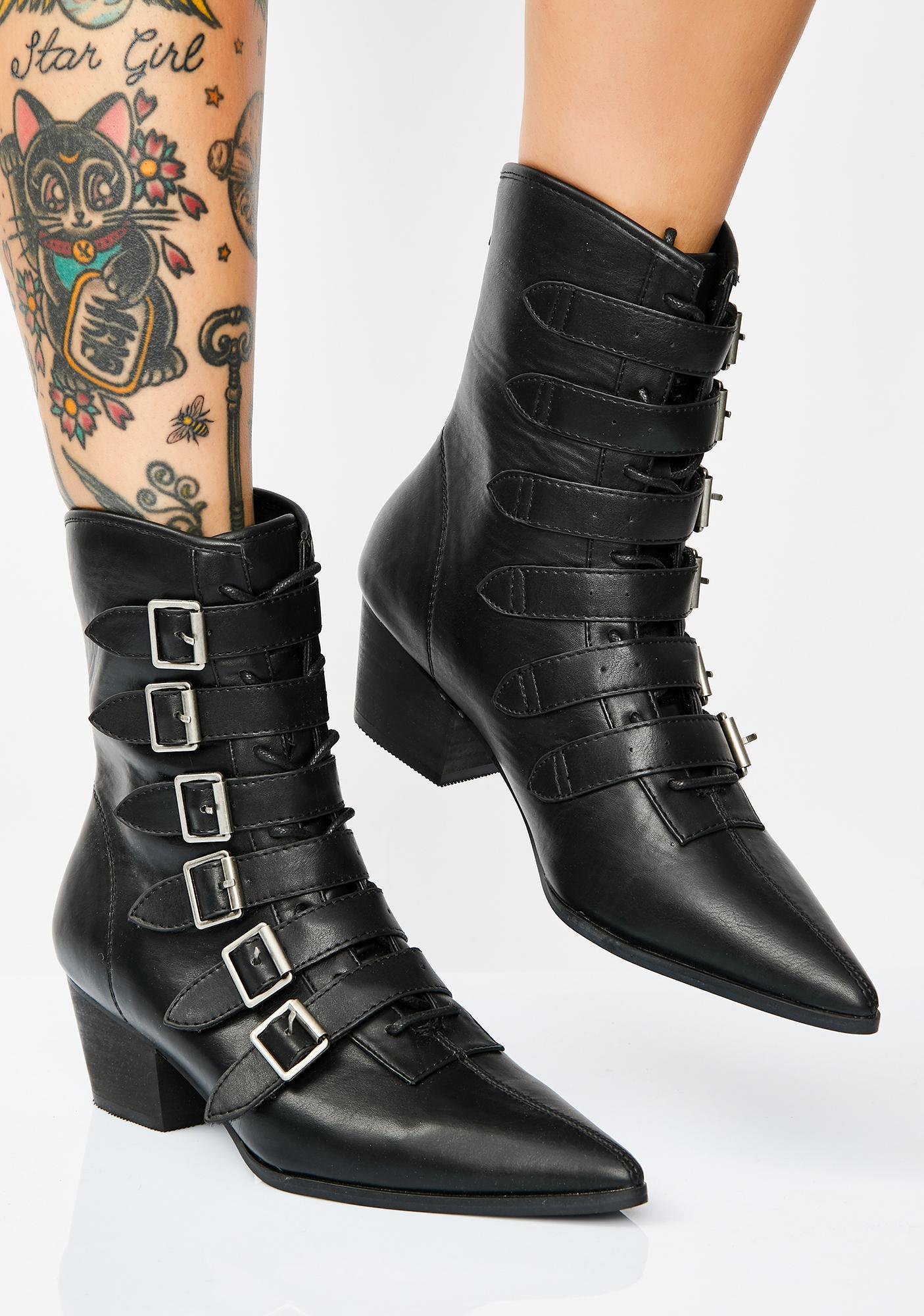 Strange Cvlt Coven Boots