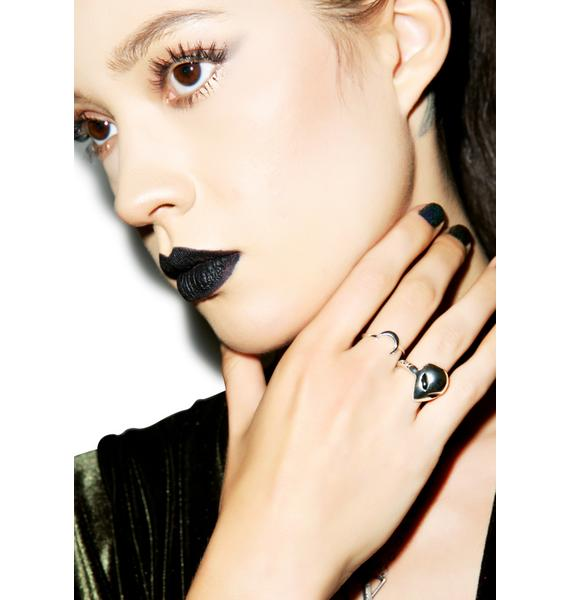 Disturbia X House Of Wolves Alien Ring