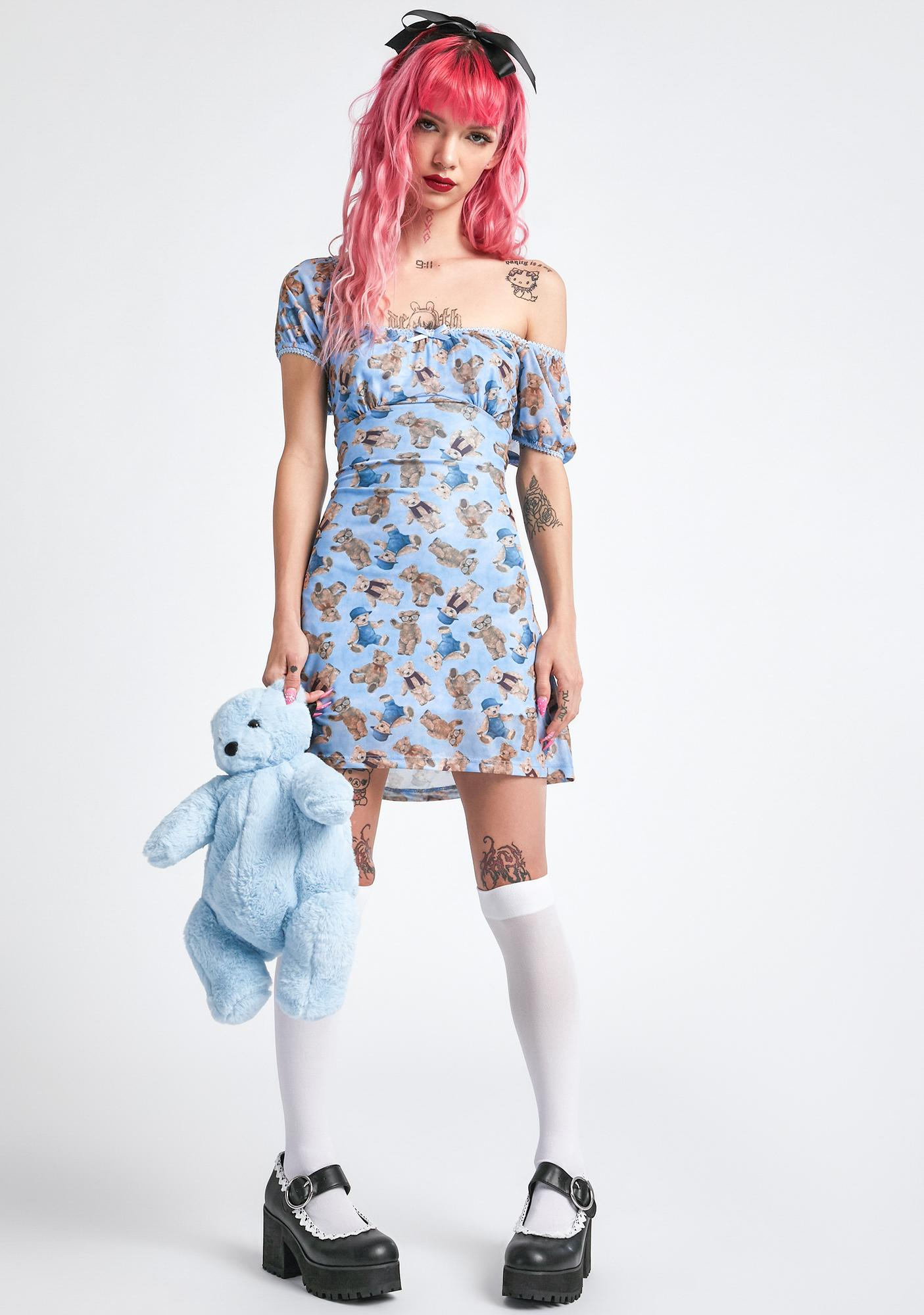 dELiA*s by Dolls Kill Soft Double Stuffed Mini Dress
