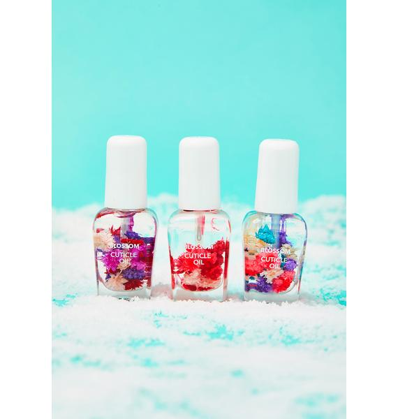 Blossom Scented Cuticle Oil Gift Set