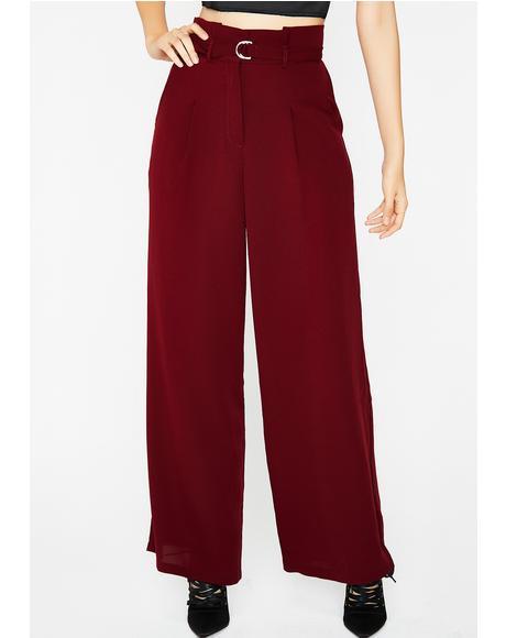 Get Movin' Belted Pants