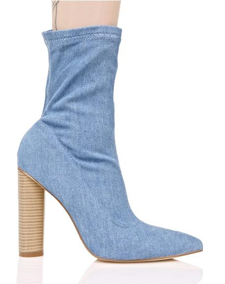 Denim Ceremony Boots