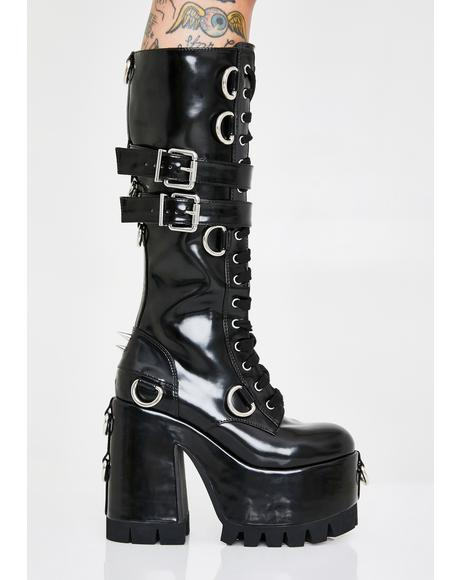 4a3ea1f7c8b4 👢 Women's Punk Boots, Knee High Boots & Ankle Boots | Dolls Kill