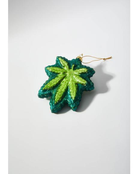 Cannabis Ornament