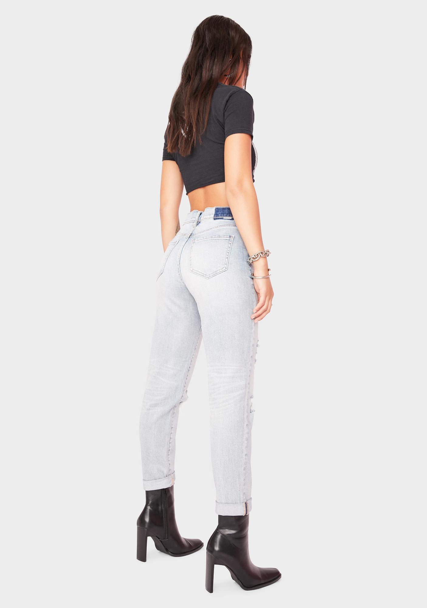 Daze Loverboy High Rise Boyfriend Jeans