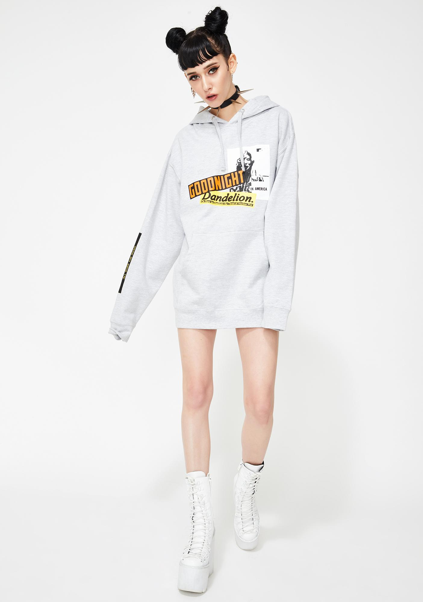 BOW3RY Dandelion Pullover Hoodie