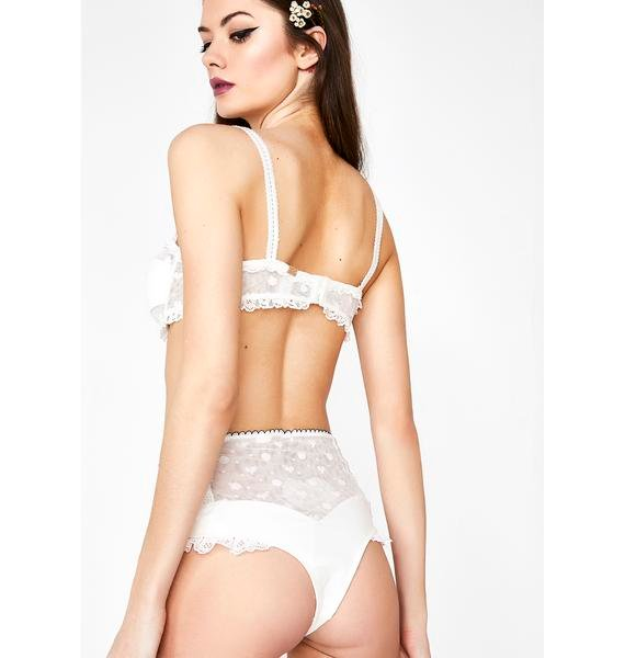 For Love & Lemons Antoinette Hi Waist Panty