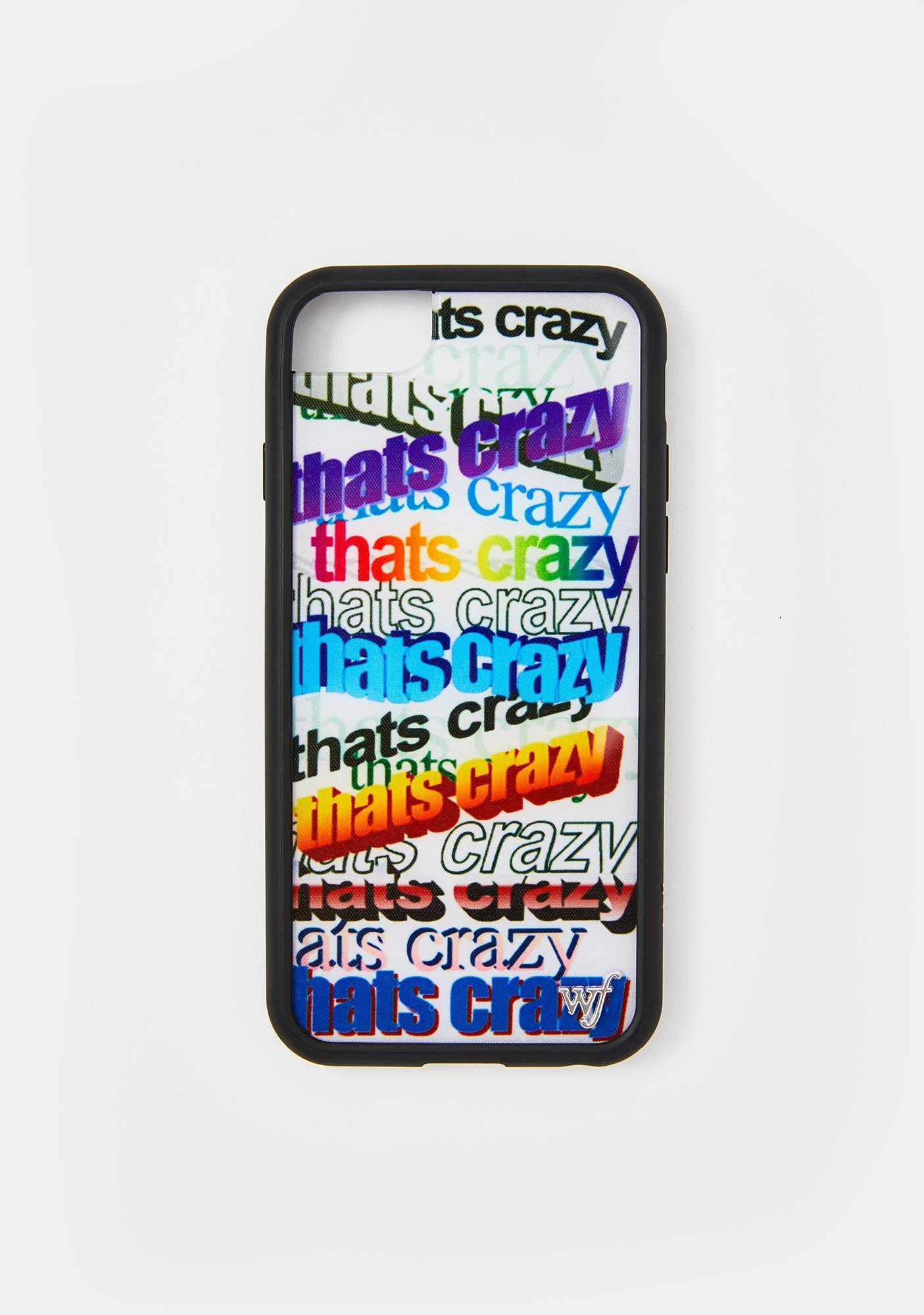 Wildflower That's Crazy iPhone Case