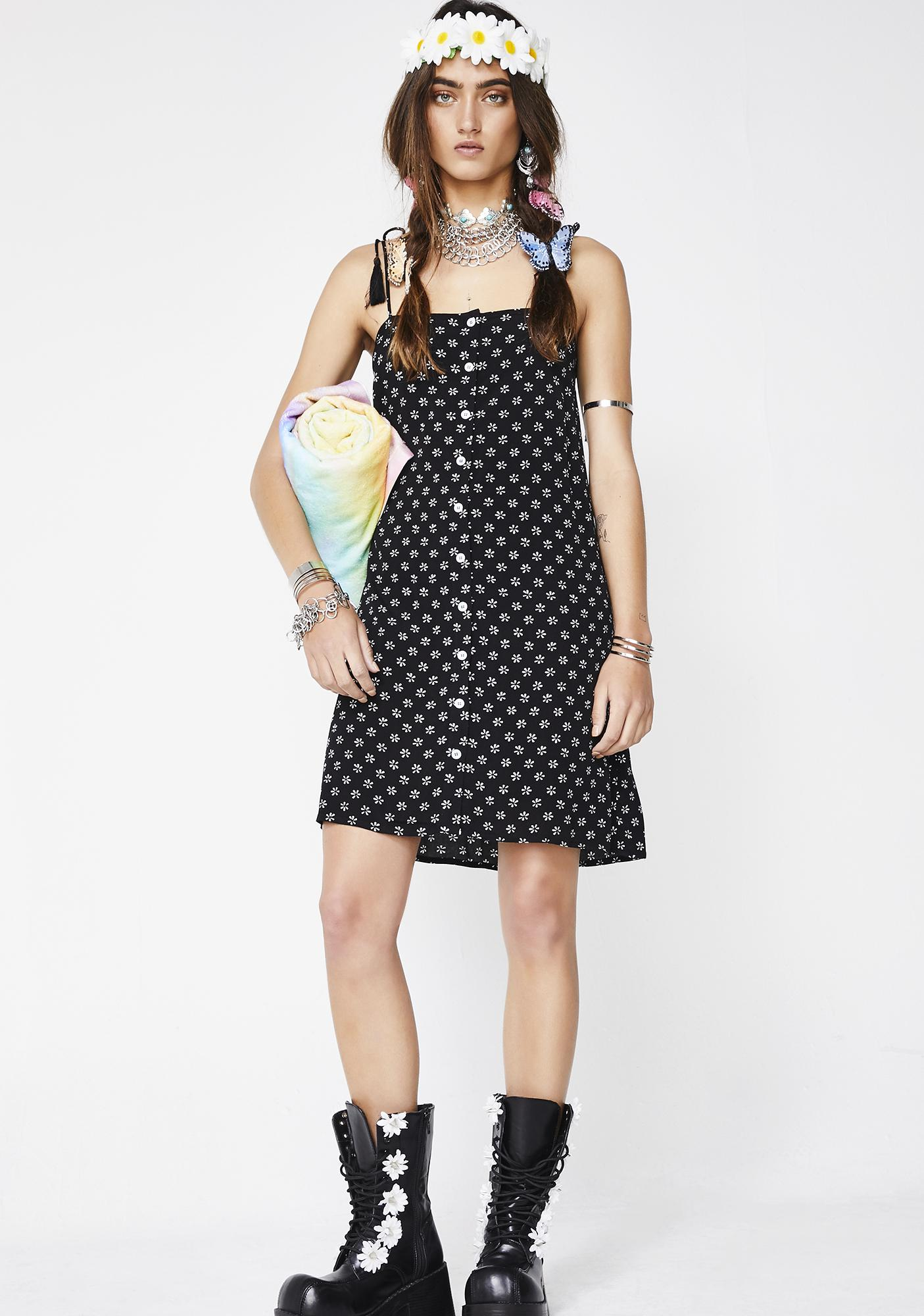 Dazed On Daisies Sundress