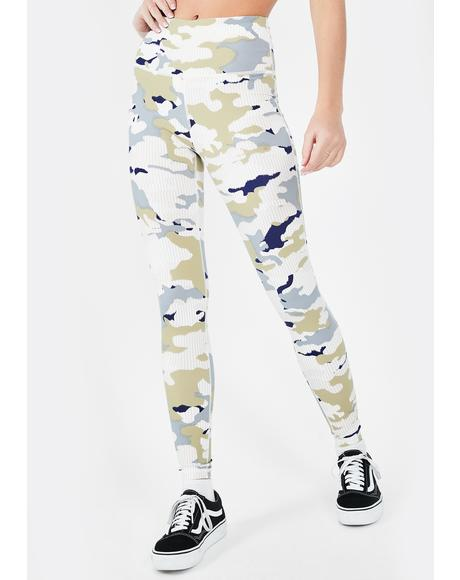 Sweetheart In Disguise Camo Leggings