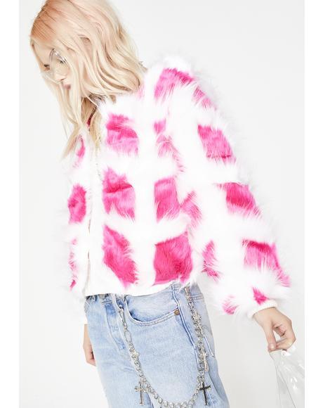 Sass Symbol Fuzzy Coat