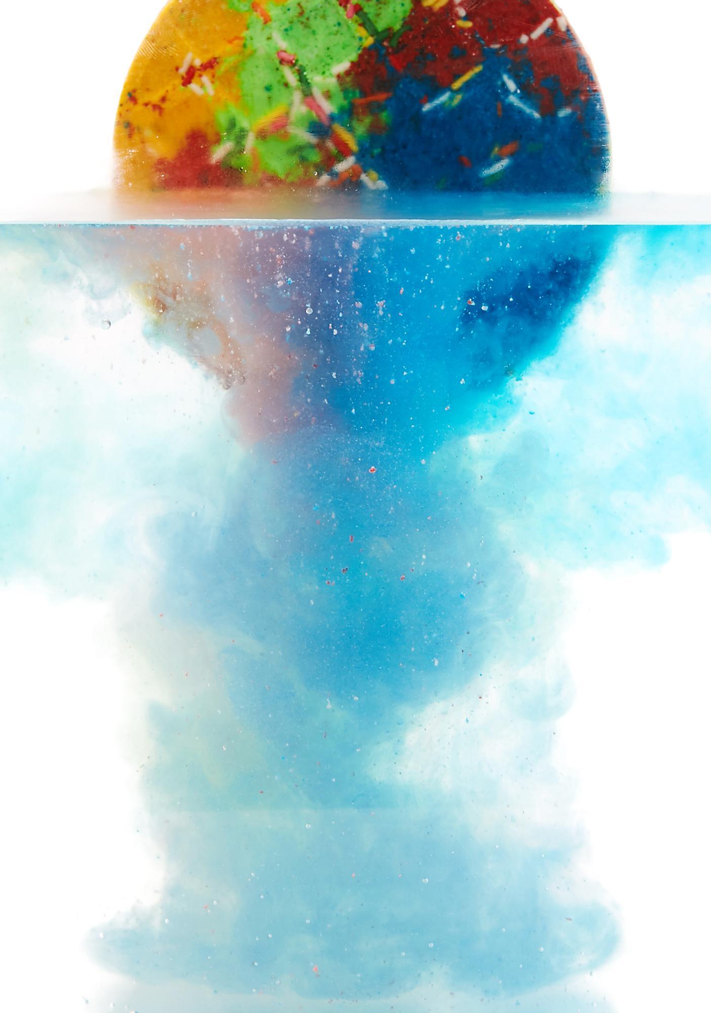 Sugar Milk Co Rainbow Sprinkles Waffle Bath Bomb