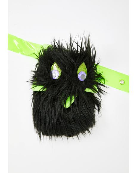 Black Woobie Satchel