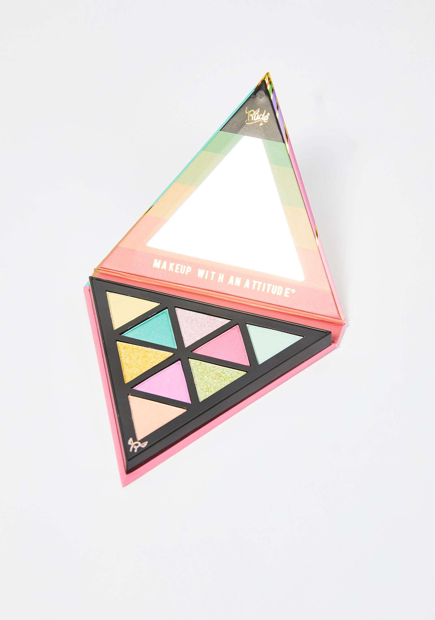Rude Cosmetics Disco Mode The 70's Eyeshadow Palette