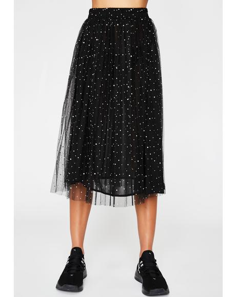 Dream Galaxy Tulle Skirt