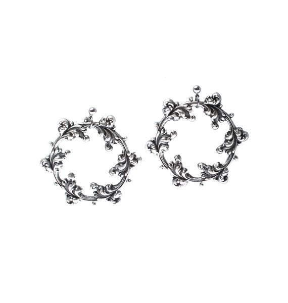 Dark Wreath Earring