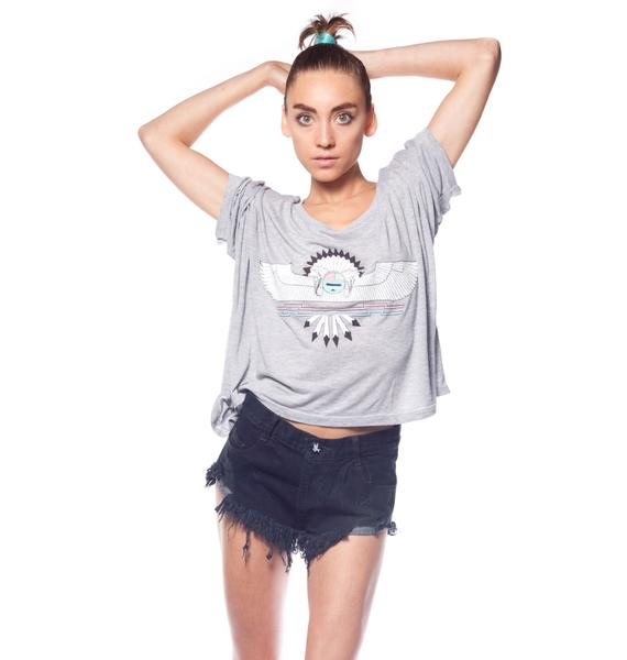 Wildfox Couture Desert Skye Harley Wide Tee