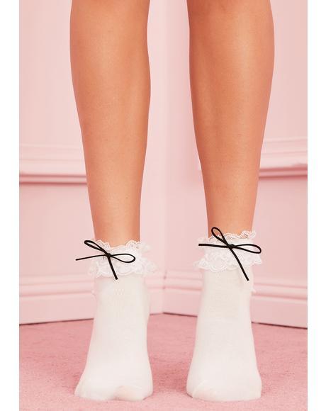 Petticoat Pleasures Ruffle Socks