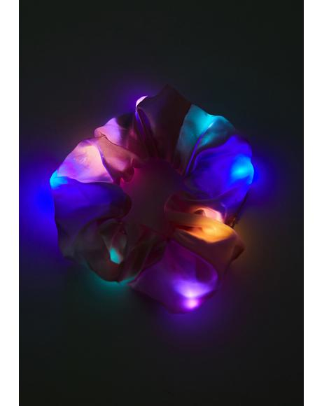 Sweet Iridescent Love Light Up Scrunchie