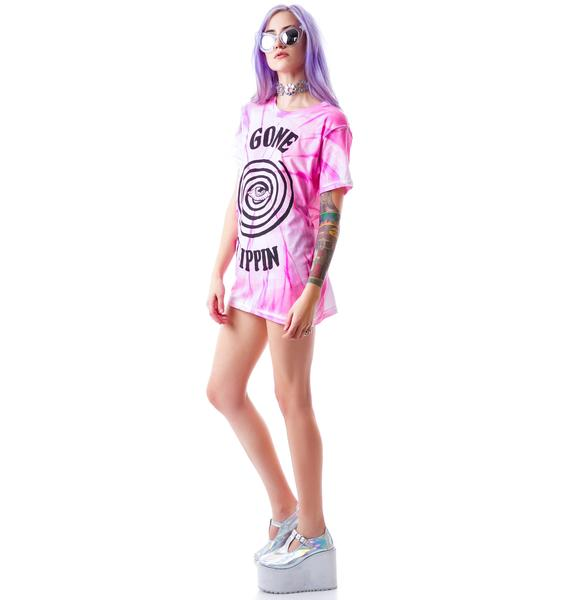 UNIF Gone Trippin Short Sleeves Tee