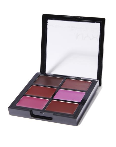 The Plums Pro Lip Cream Palette