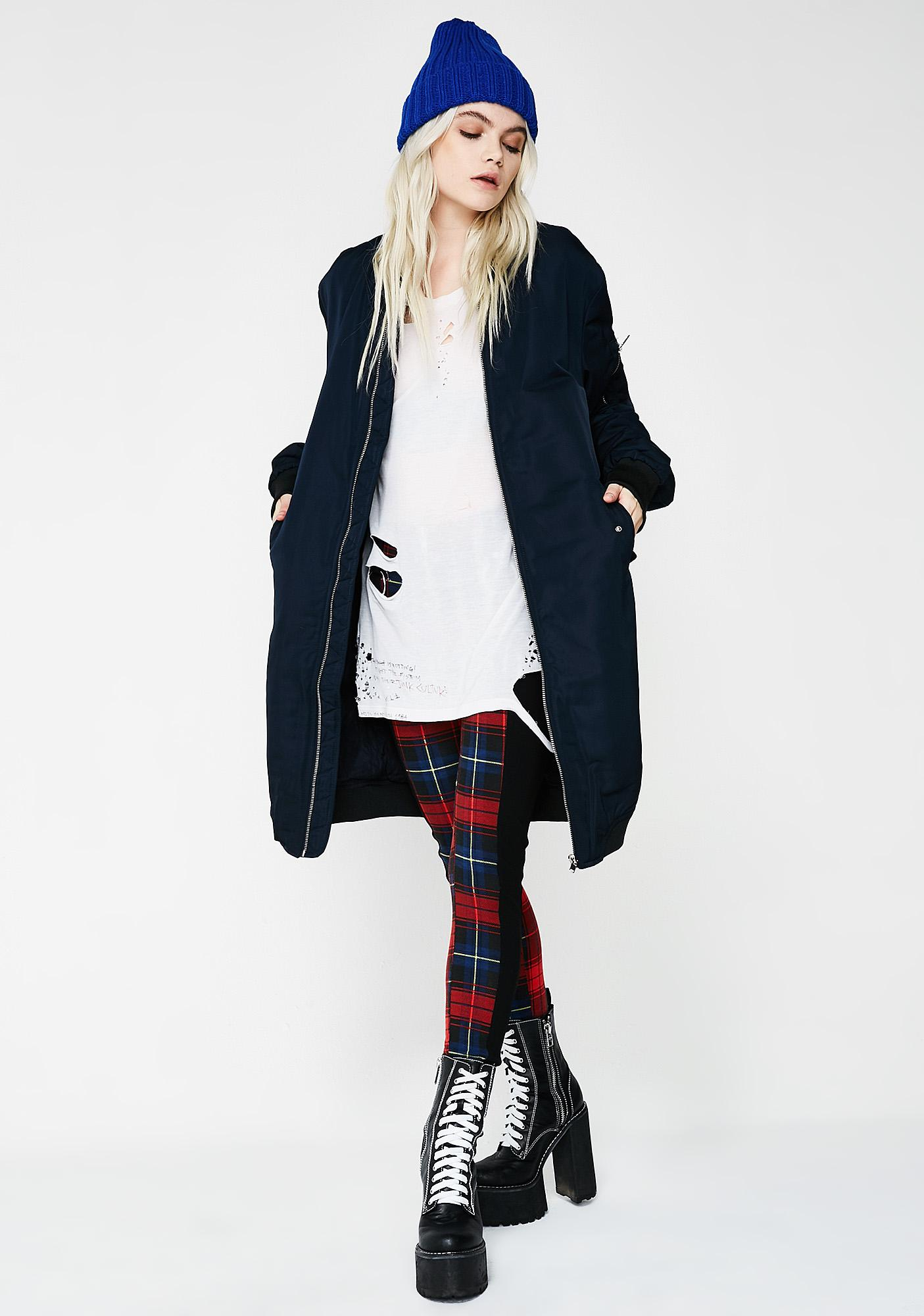 Way Up Bomber Coat
